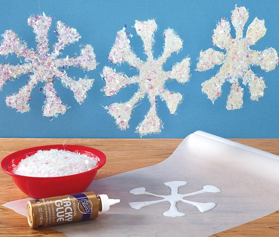 Snowflake Peel Offs