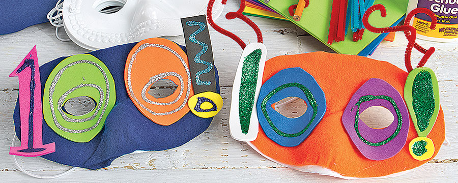 100th Day Celebration Mask