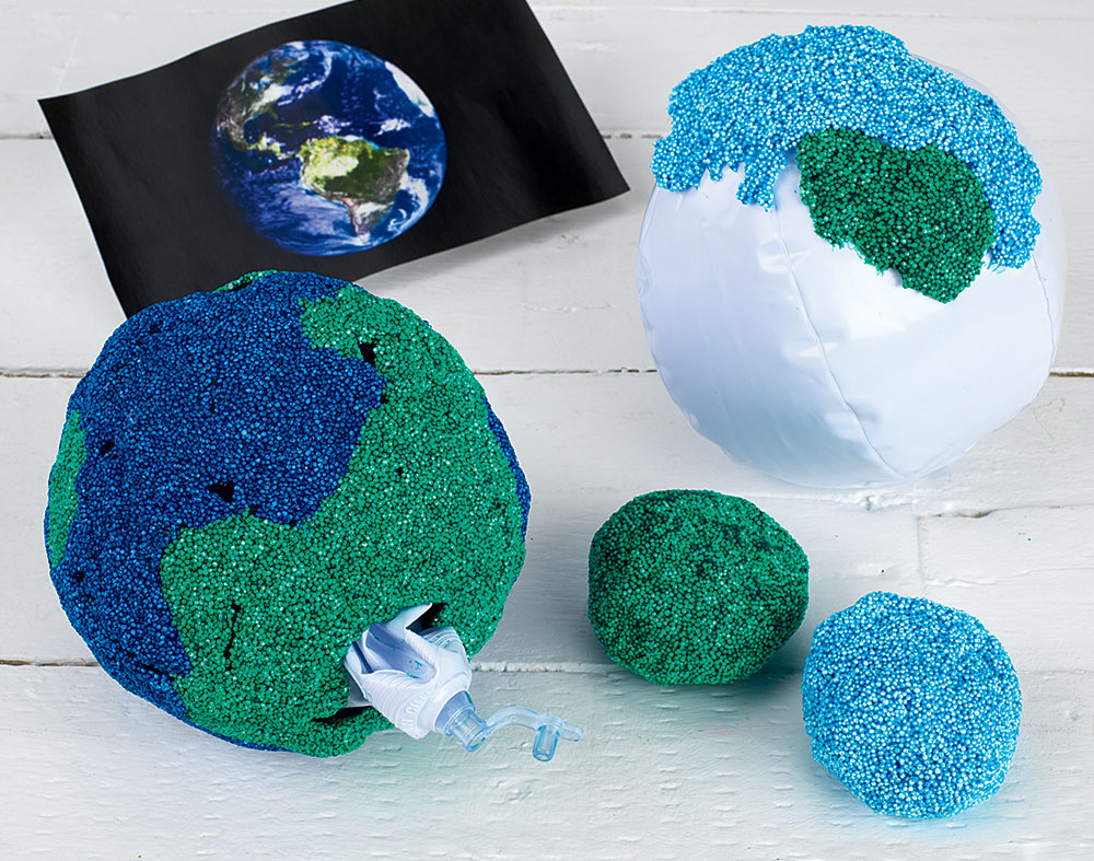 EARTH DAY Activity DRY FOAM MODEL