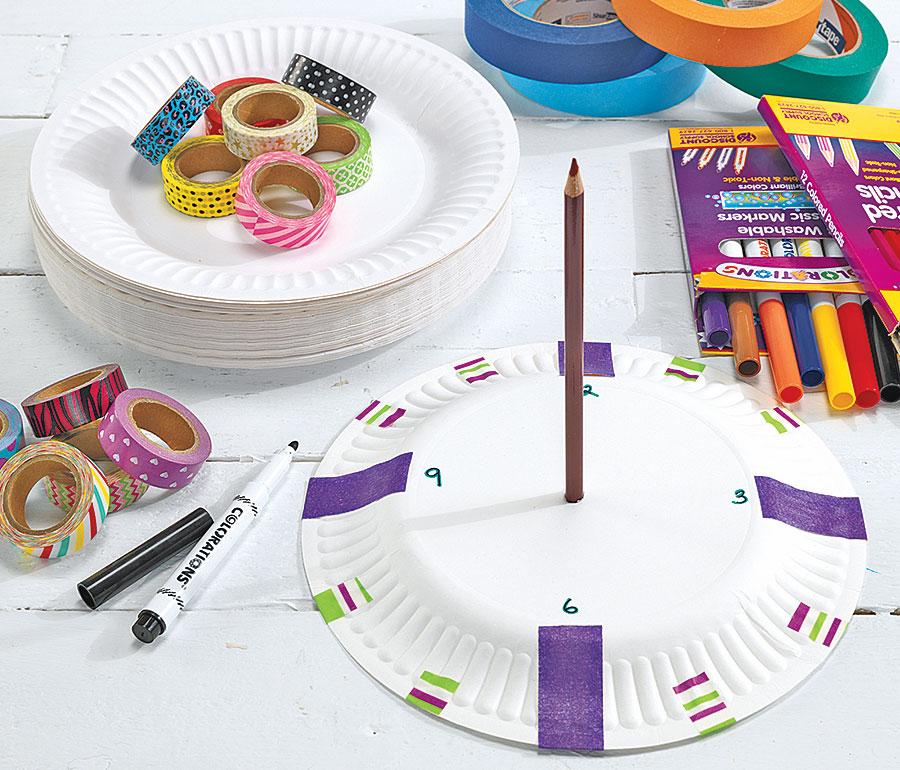 Paper Plate Sundial