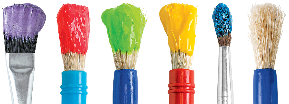 Wide Selection of Brushes