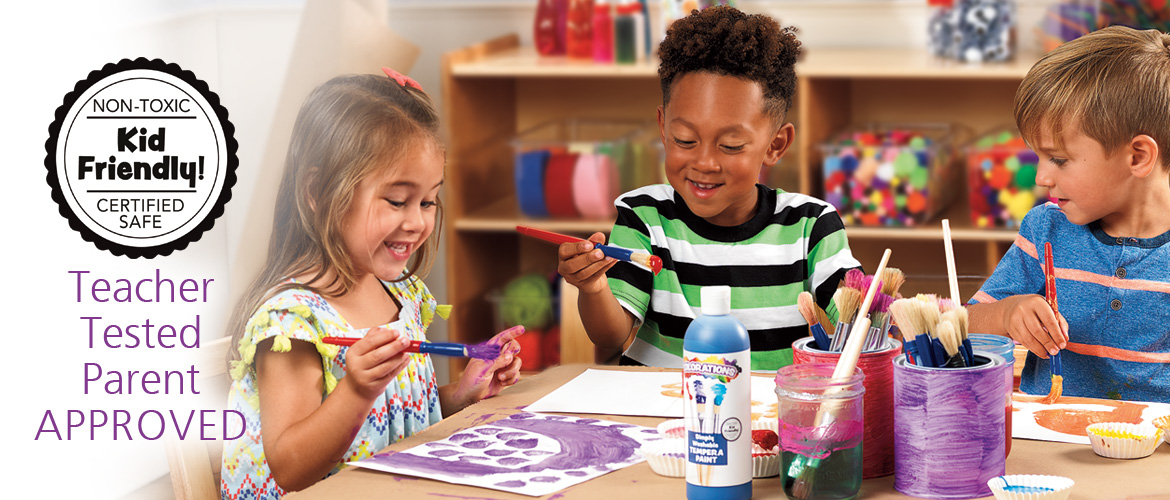Colorations - Always Kid Friendly and Non-Toxic, Teacher Tested, Parent APPROVED