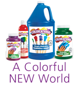 Colorations - A Colorful New World