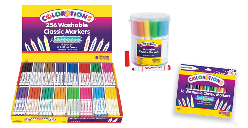 Coloring - Marker Packs