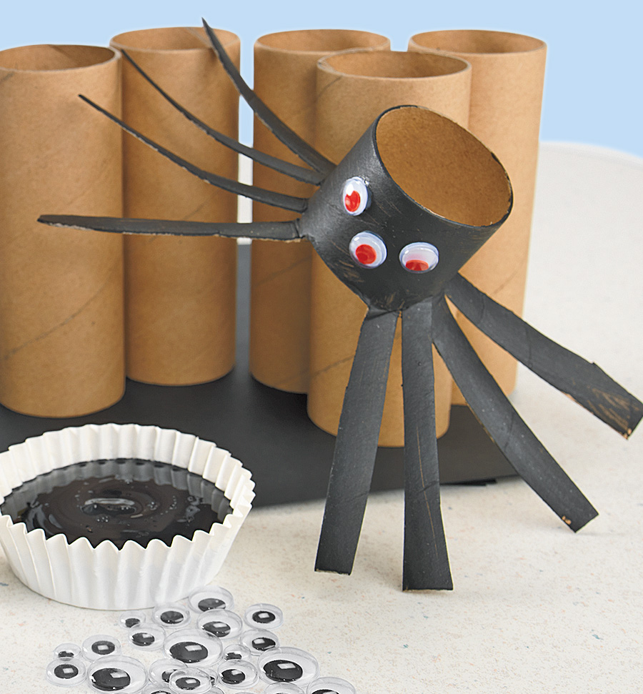 Craft Roll Spiders