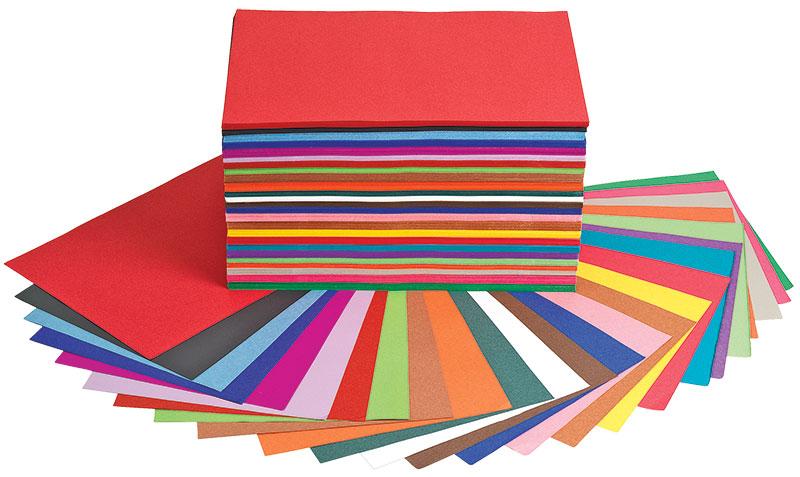 Colorations Construction Paper