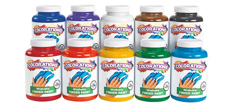 Colorations Washable Finger Paint