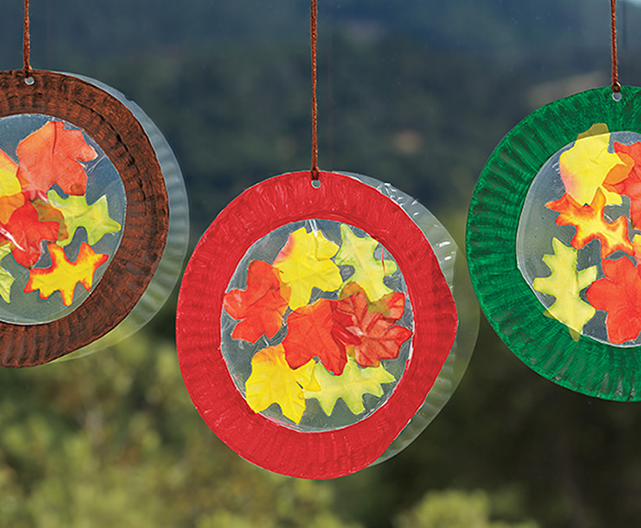 Fall Leaf Sun Catchers