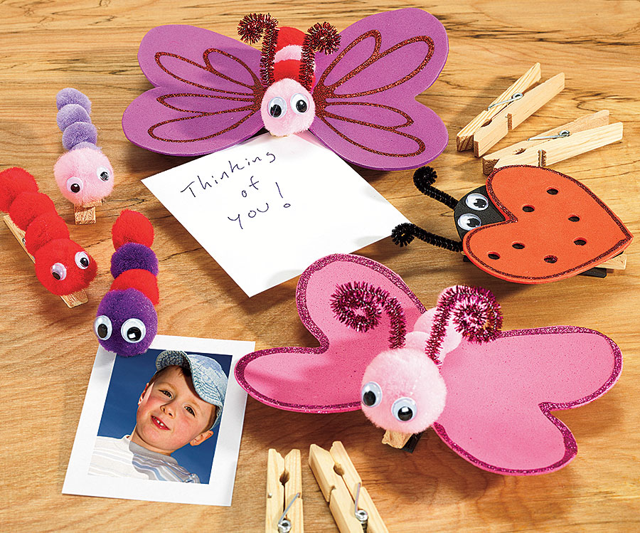 Love Note Critter Clips