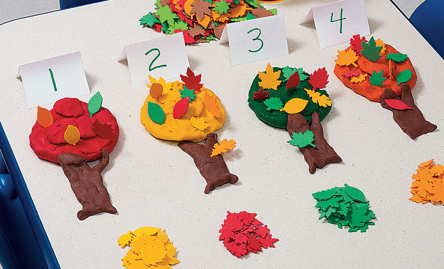Fall Dough Tree
