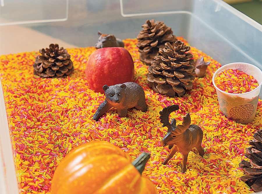 Fall Autumn Sensory Activity