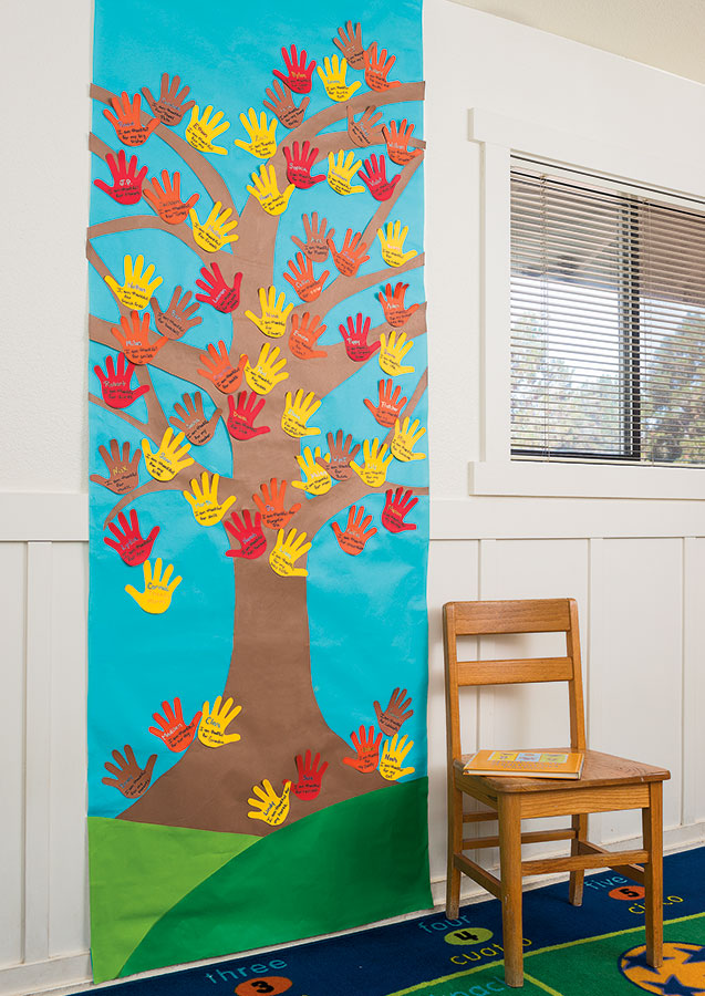 Classroom Thanksgiving Tree
