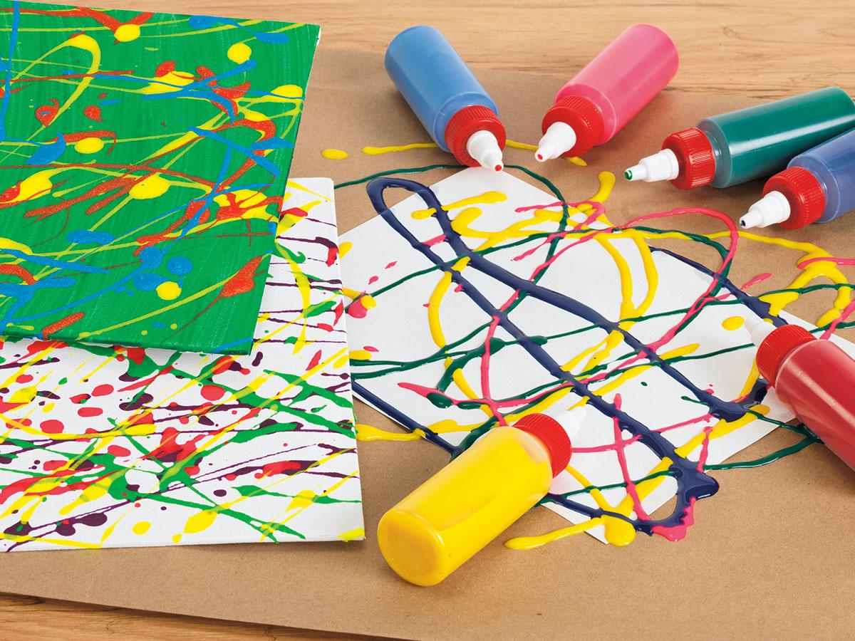 BioColor Drizzle Art