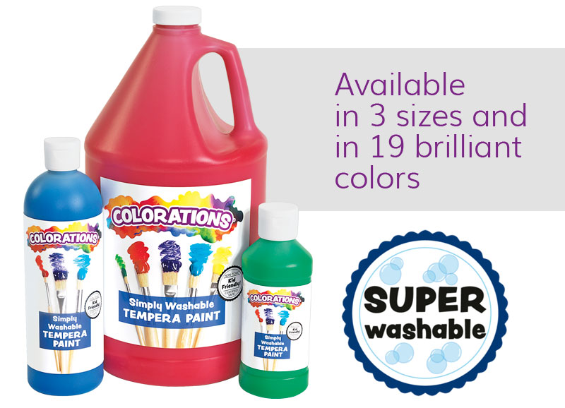 Simply Washable Tempera
