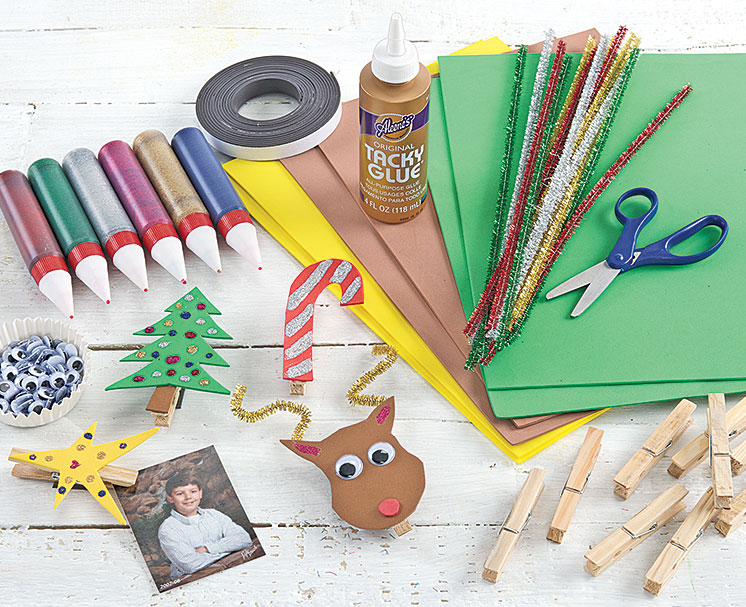 Winter Clothespin Friends