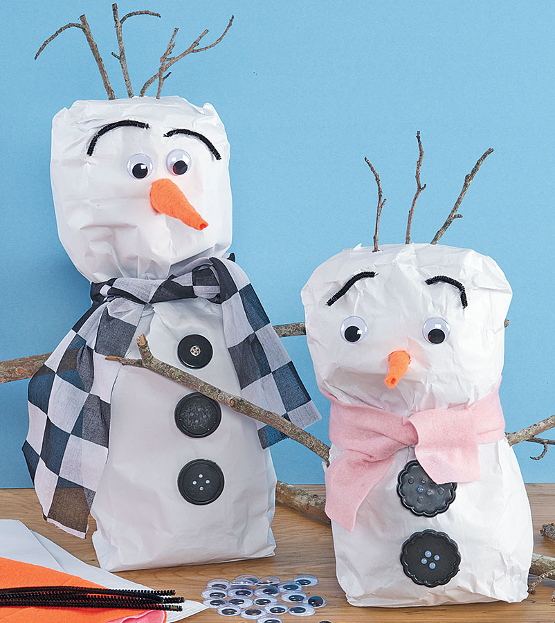 Stuffed Bag Snowpals