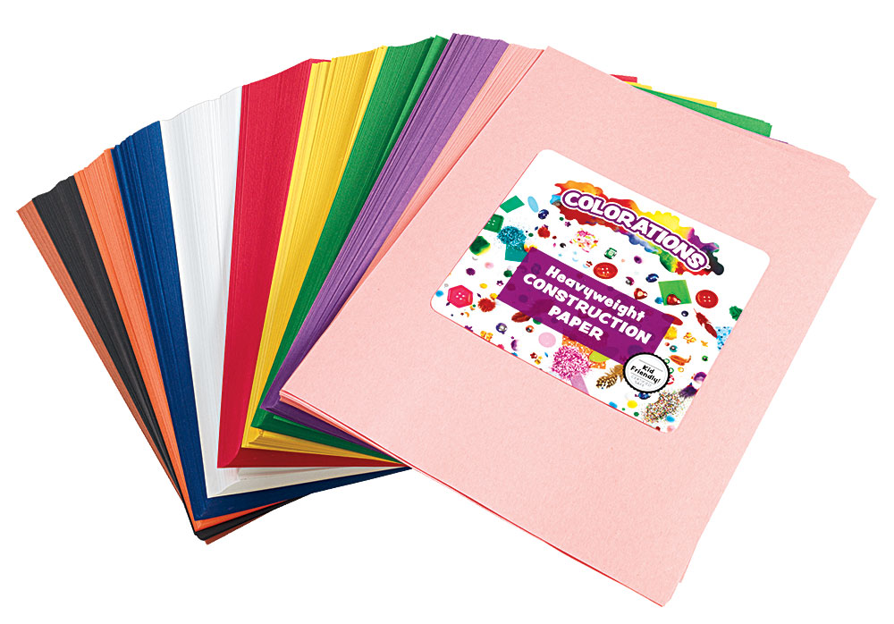 Colorations Construction Paper