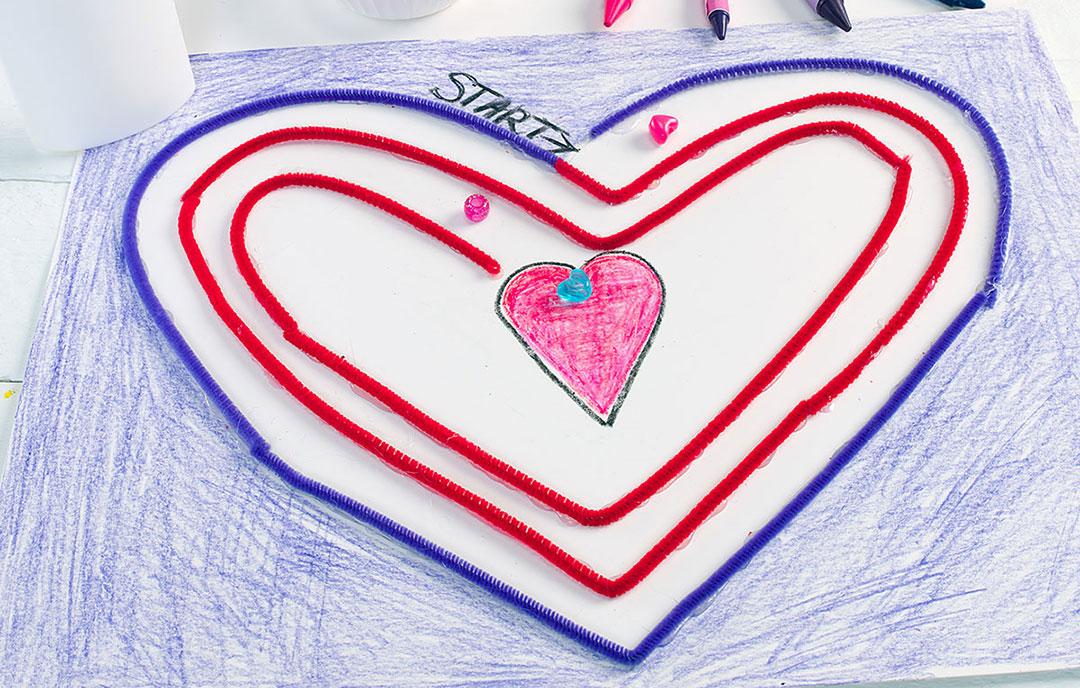 Heart Bead Maze