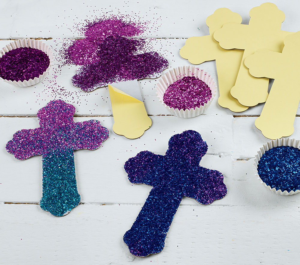 EASTER Activity DAZZLING CROSSES