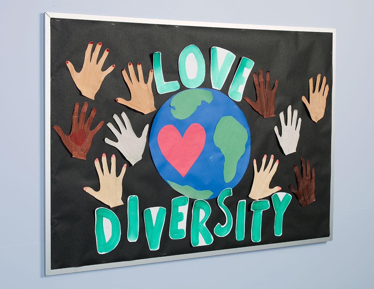 Cultural Diversity Bulletin Board