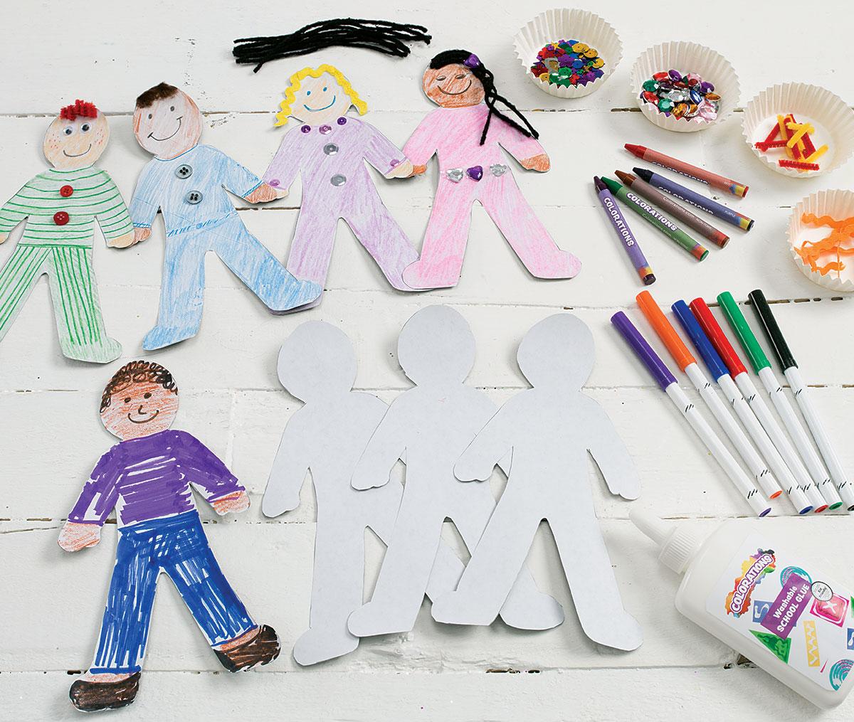 Culturual Diversity Paper Dolls