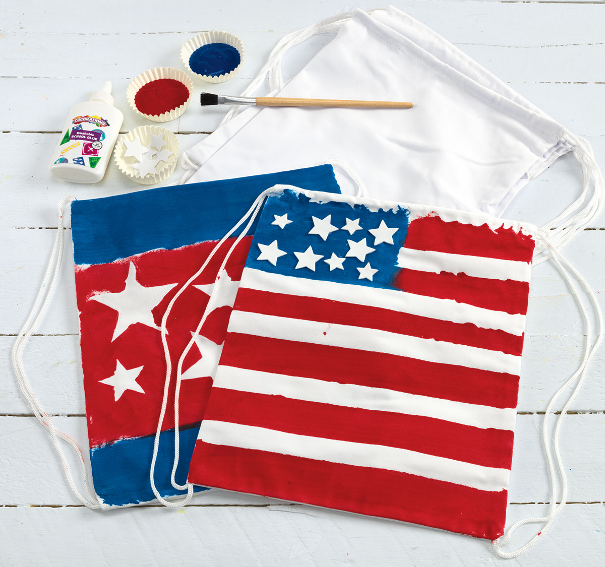 Flag Backpacks