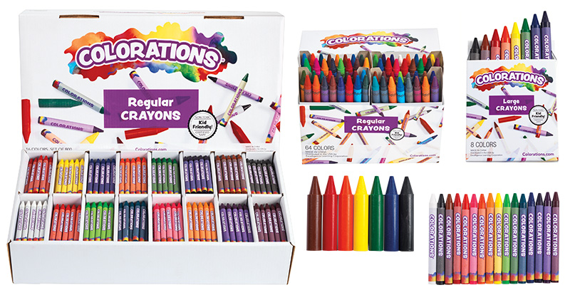 Colorations® Crayons