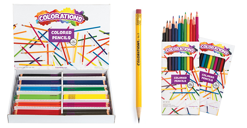 Colorations® Pencils