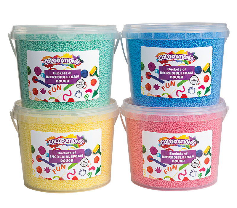 Colorations® Incredible Foam Dough