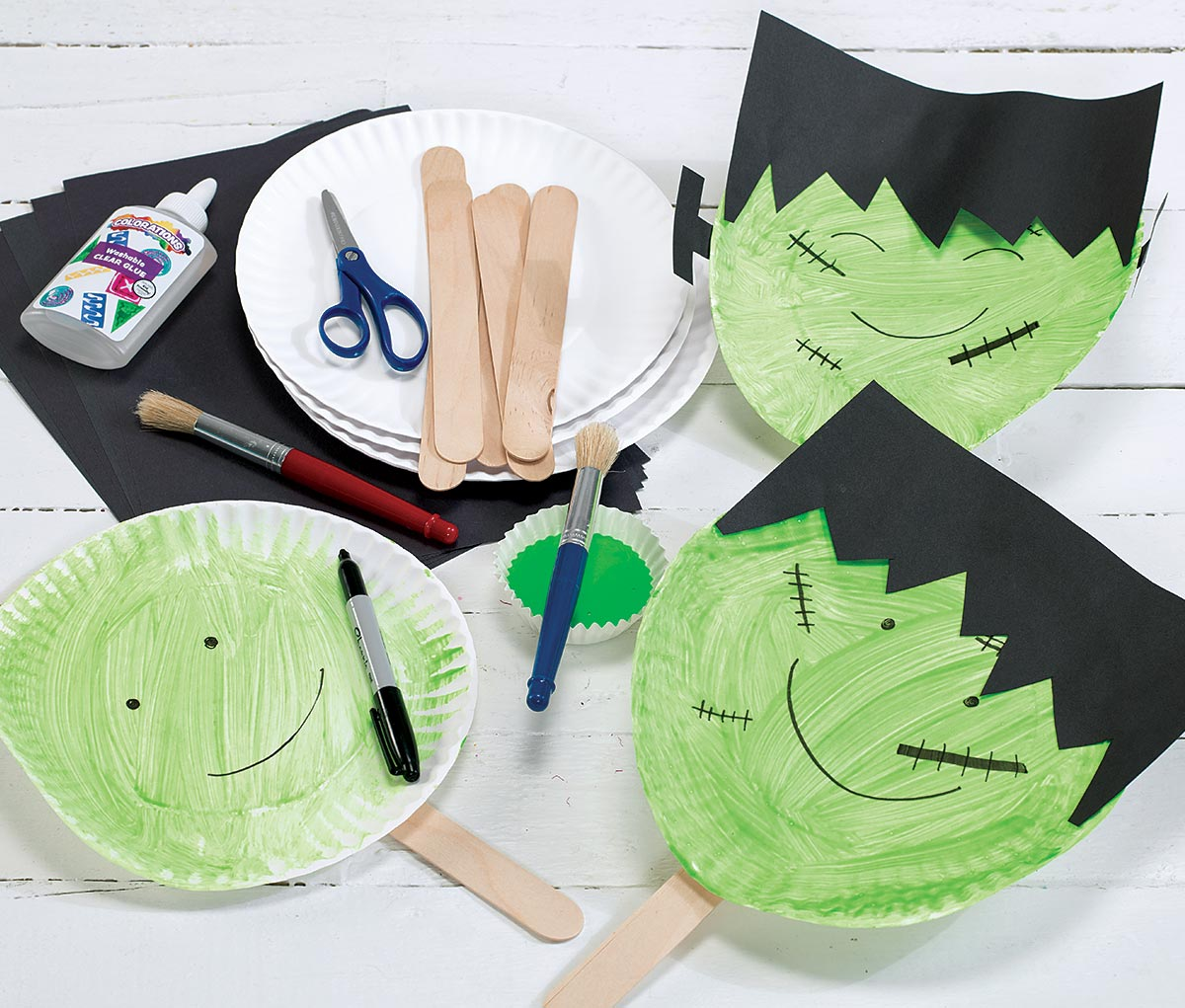 Frankenstein's Mask Craft for Halloween