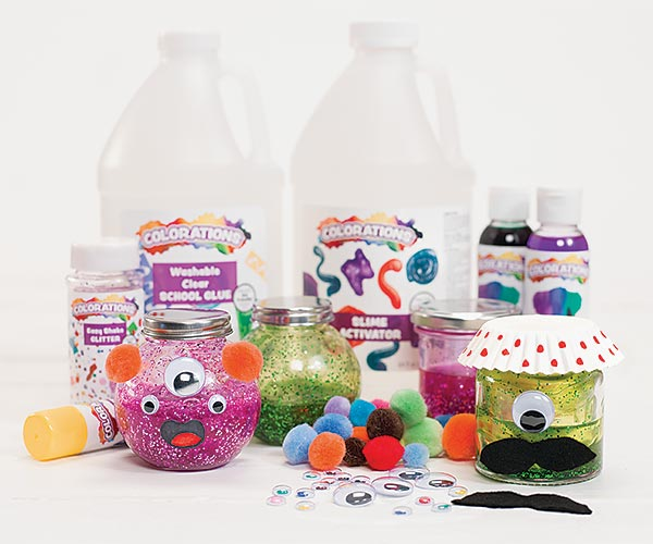 Slime Monster Jars for Halloween