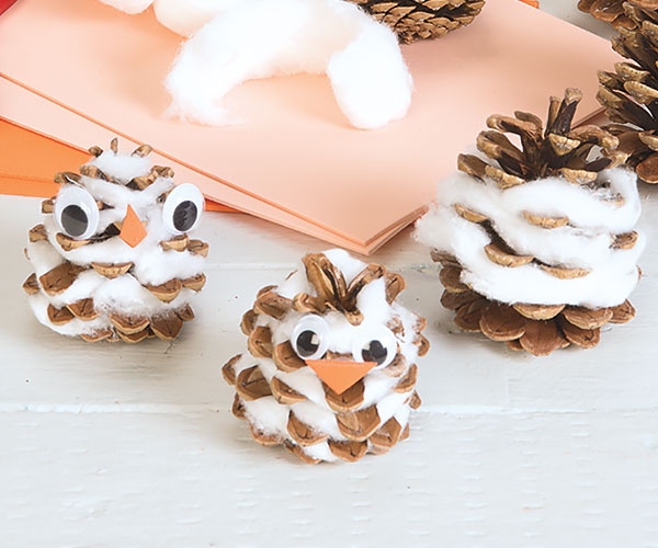 Winter Birds Creative Craft Activity