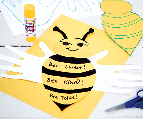 Bee Kind, Bee Polite Creative Craft Activity for Kindness Day