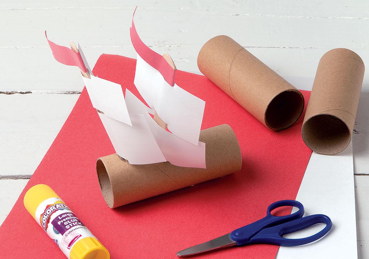 Pilgrim Ship Creative Craft Activity for Thanksgiving