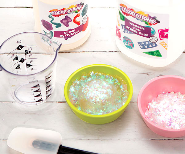Insta-Snow® Winter Slime Creative Craft Activity for Winter